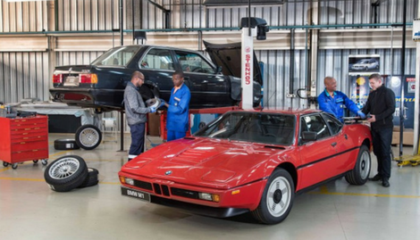 BMW South Africa Refurbishes its Classic Cars