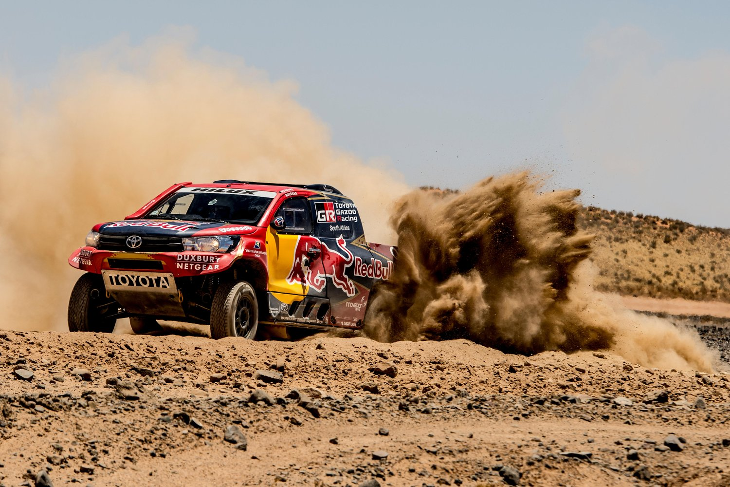 3 SA-built Toyota Hilux race vehicles among top 10 in Dakar Rally