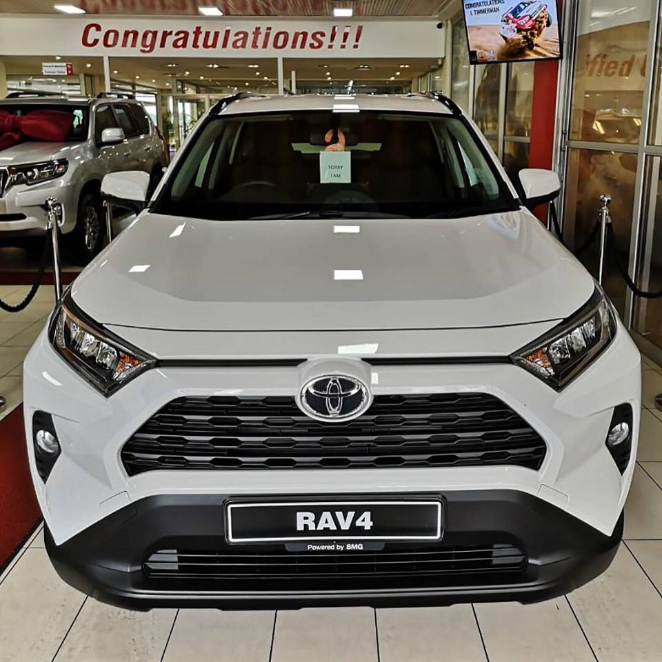 Test Drive the NEW RAV 4 Today