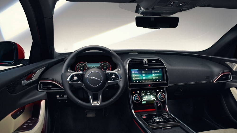 NEW JAGUAR XE: ENHANCED EXTERIOR, ALL-NEW LUXURIOUS INTERIOR AND INTUITIVE TECHNOLOGY