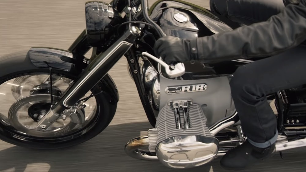 BMW Motorrad Concept R18: The beginning of a full frontal