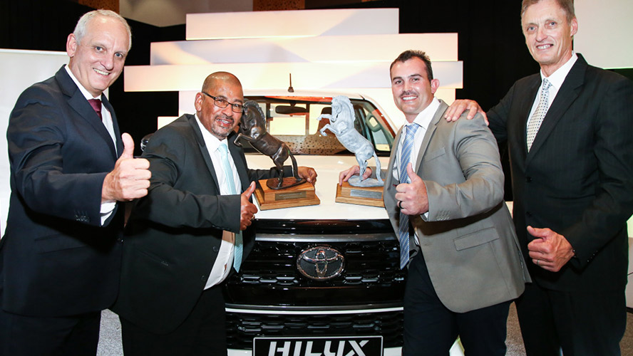 TOYOTA AWARDS YOUNG FARMER AND NEW HARVEST OF THE YEAR WINNERS WITH NEW HILUX MODELS