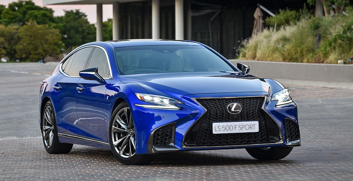 HANDCRAFTED PERFECTION ALL-NEW LEXUS LS F SPORT